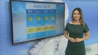 Confira a previsão do tempo para esta terça-feira (17) no Sul de Minas - Confira a previsão do tempo para esta terça-feira (17) no Sul de Minas