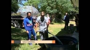 Estado reconhece situação de emergência de São Gabriel por causa da estiagem - O município estima que os prejuízos ultrapassem os 100 milhões de reais.