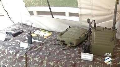 Exposição militar celebra o 'Dia do Exército' em Corumbá - O Exército brasileiro celebra 370 anos de operação no dia 19 de abril.
