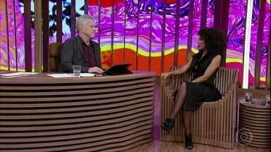 Taís Araújo fala de viagem a Angola para gravação da nova temporada de 'Mister Brau' - Atriz também fala da equipe de roteiristas da série