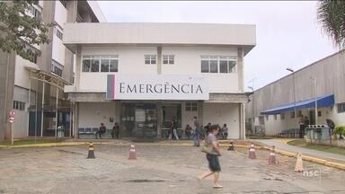 Falta de profissionais compromete atendimento no Hospital Universitário de Florianópolis - Falta de profissionais compromete atendimento no Hospital Universitário de Florianópolis