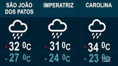Veja a previsão do tempo nesta quinta-feira (19) no MA - Confira como deve ficar o tempo e a temperatura em São Luís e no Maranhão.
