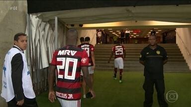 Motivação da torcida no treino aberto não foi suficiente para o Fla na Libertadores - Motivação da torcida no treino aberto não foi suficiente para o Fla na Libertadores