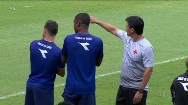 Vasco faz reconhecimento do gramado argentino antes de duelo com Racing pela Libertadores - Vasco faz reconhecimento do gramado argentino antes de duelo com Racing pela Libertadores