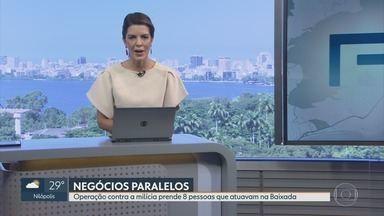 RJ1 - Íntegra 19 Abril 2018 - O telejornal, apresentado por Mariana Gross, exibe as principais notícias do Rio, com prestação de serviço e previsão do tempo.