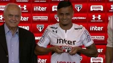 São Paulo apresenta o meia Everton - São Paulo apresenta o meia Everton