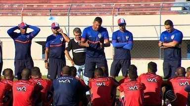Washington Coração Valente é apresentado como treinador do Itabaiana - Craque nos gramados, ele agora busca se destacar como treinador e tem missão de levar o Ita ao acesso.