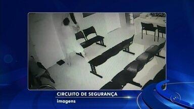 Dupla é presa suspeita de arrombar unidade de saúde e furtar TV em Potirendaba - A Guarda Civil Municipal (GCM) de Potirendaba (SP) prendeu na madrugada desta quinta-feira (19) dois suspeitos de furtar uma Unidade Básica de Saúde (UBS) no bairro Jardim Santos Reis.