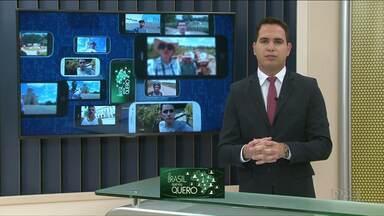 Moradores de Diamante do Norte podem participar da campanha Brasil que eu quero - Vídeo deve ter 15 segundos