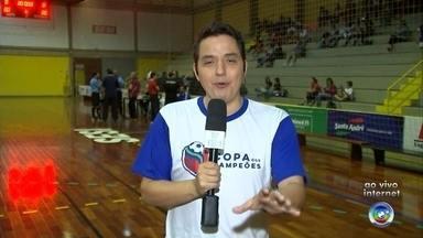 Copa dos Campeões tem a primeira partida em Votorantim - A primeira partida da Copa dos Campeões da TV TEM será disputada nesta quinta-feira (19), em Votorantim (SP).