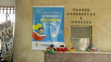 Projeto Vai e Vem Literário promove iniciativa de leitura em Campos, no RJ - Assista a seguir.