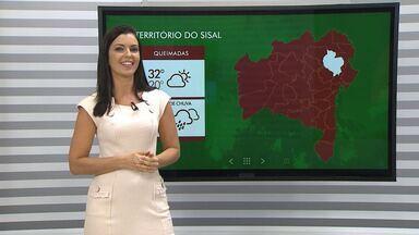 Previsão: chuva alivia problemas causados pela seca na região de Queimadas - Confira como vai ficar o tempo durante a semana em todo estado.