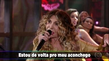 Elba Ramalho emociona com 'De Volta Pro Aconchego' - O auditório e os convidados cantam com a artista