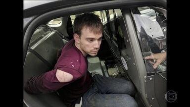 Polícia americana prende suspeito de matar 4 em restaurante - Homem de 29 anos usou rifle AR-15 no crime.