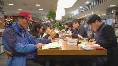 A agitação e o consumismo de Seul, na Coreia do Sul
