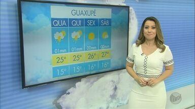 Confira a previsão do tempo para esta quarta-feira (25) no Sul de Minas - Confira a previsão do tempo para esta quarta-feira (25) no Sul de Minas