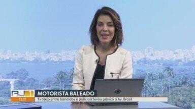 RJ1 - Íntegra 26 Abril 2018 - O telejornal, apresentado por Mariana Gross, exibe as principais notícias do Rio, com prestação de serviço e previsão do tempo.
