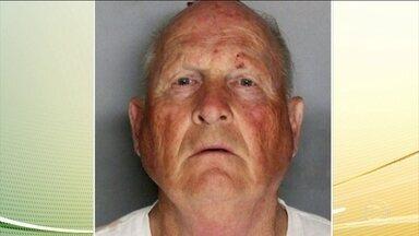 Serial-killer dos EUA é preso após 40 anos de investigação - Depois de mais de 40 anos de investigação, a polícia americana confirmou que conseguiu prender um dos maiores assassinos em série do país. As autoridades acreditam que ele tenha matado 12 pessoas e cometido pelo menos 50 estupros, na Califórnia.
