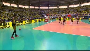 Superliga Feminina de Vôlei - Final - jogo 2 - Praia Clube x Sesc/RJ