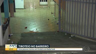 Jovem morre em tiroteio em baile funk na Região do Barreiro, em Belo Horizonte - Festa era realizada na madrugada desta sexta-feira no bairro Tirol.