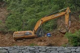 Mogi-Bertioga continuará interditada no feriado prolongado - Segundo o DER, uma nova vistoria foi feita no local e foi constatato que ainda é arriscado liberar a rodovia.
