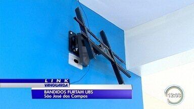 Criminosos invadem prédio da UBS na zona norte de São José - Em menos de um ano, essa já é a quarta vez que a unidade é alvo dos bandidos.