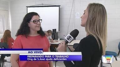 ONG de São José abre inscrições de curso para deficientes - São 40 vagas para ajudar os adolescentes a entrarem no mercado de trabalho.