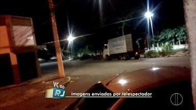 Vídeo flagra descarte de lixo irregular no bairro Jardim Carioca, em Campos, no RJ - Assista a seguir.