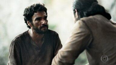 Cássio concorda em tentar fugir de Angór - Afonso é incentivado pelo amigo a retornar ao trono de Montemor