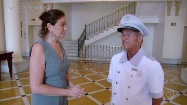 Lilia Cabral conversa com Cafú, capitão da recepção do Copacabana Palace - O funcionário conta momentos emocionantes sua trajetória profissional