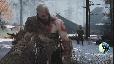 Zangado mostra cena do jogo 'God of War' - Zangado conta um pouco da história do jogo
