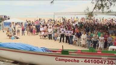Pescadores celebram abertura da pesca da tainha em Florianópolis - Pescadores celebram abertura da pesca da tainha em Florianópolis