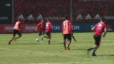 Flamengo treina sem Diego antes de enfrentar a Ponte Preta pela Copa do Brasil - Flamengo treina sem Diego antes de enfrentar a Ponte Preta pela Copa do Brasil