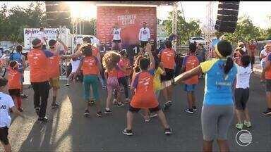 Crianças roubam a cena no Circuito Clube corrida de rua - Crianças roubam a cena no Circuito Clube corrida de rua
