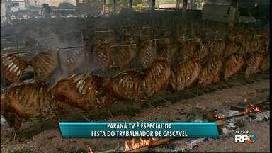 16,5 toneladas de carne são assadas na festa do costelão em Cascavel - 515 costelões foram assados no fogo de chão. É o maior churrasco do país. Este ano a festa está completando 52 anos.