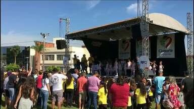 Pedalada Cultural reúne ciclistas em Cianorte no feriado - O evento teve apoio da RPC e também contou com apresentações culturais
