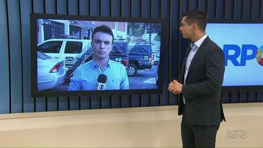 Assaltante e policial ficam feridos em tentativa de assalto - Foi a um posto de combustíveis de Ponta Grossa.