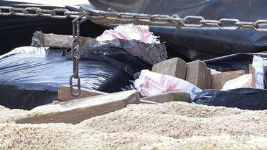 Polícia encontra cerca de 150kg de maconha no meio de carga de arroz - De acordo com a Denarc, a Divisão Estadual de Narcóticos, a carreta teria saído de Foz do Iguaçu sentido São José dos Campos, em São Paulo.