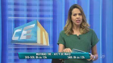 Mutirão do Tribunal Eleitoral no Paulo Sarasate retorna a partir desta quarta-feira (2) - Confira mais notícias em g1.globo.com/ce