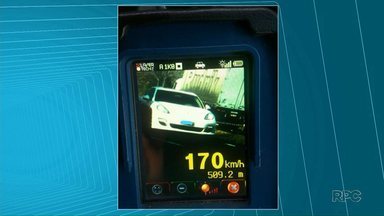 Excesso de velocidade é a infração mais registrada na volta do feriado prolongado - No dia do trabalhador teve motorista andando a 170 Km/h nas rodovias da região de Ponta Grossa.