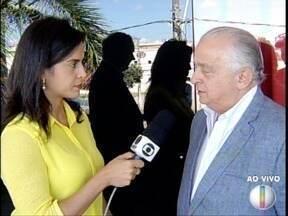 Presidente da Fiemg fala sobre as perspectivas da indústria mineira - Presidente esta no Norte de Minas para uma formatura da escola móvel Sesi/Senai em Januária.