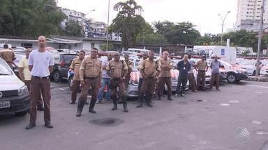Destaques do dia: agentes de trânsito fazem protesto e paralisam as atividades em Salvador - Confira também outros fatos que marcaram esta quarta-feira (3), em Salvador.
