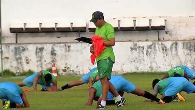 Icasa volta a treinar em momento delicado na Série B do Cearense - Há três partidas a equipe não vence.