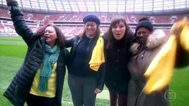Mães de craques da seleção viajam pela Rússia em 'As Matrioskas' - Glenda Kozlowski conta curiosidades das gravações do programa que estreia neste sábado