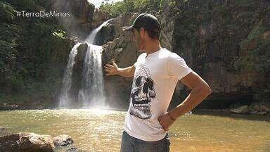 Morador de Capitólio mostra cachoeira escondida em trilha - Para ele, local é especial