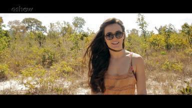 Confira bastidor inédito da cena em que Clara e Gael se conhecem no Jalapão - Veja making of dessa cena!