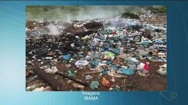 Ibama começa operação em municípios que não cumpriram a destinação de resíduos sólidosl - Operação é nacional.