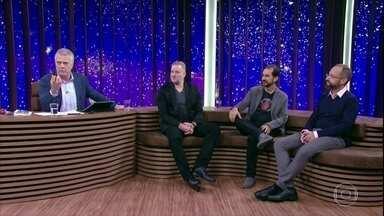 Bial e convidados comentam cena clássica de '2001: Uma Odisséia no Espaço' - Marcelo Janot revela curiosidade sobre a trilha sonora