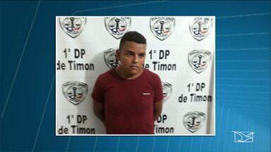 Polícia prende em Timon condenado por homicídio há 11 anos - Francivaldo Pereira da conceição matou a namorada grávida dele mesmo