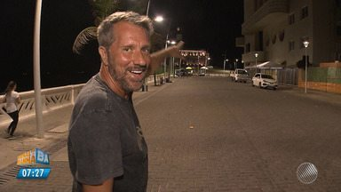 Ator Luis Salem conta os detalhes da peça 'Um novo baiano' - Recentemente o ator se mudou para Salvador.